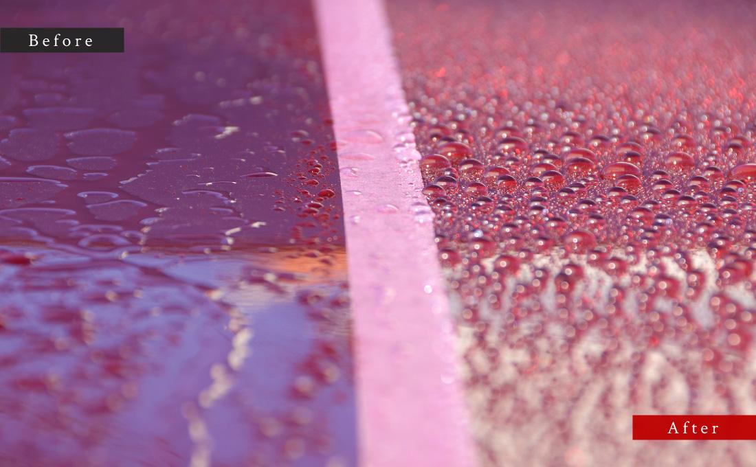 車体水滴比較